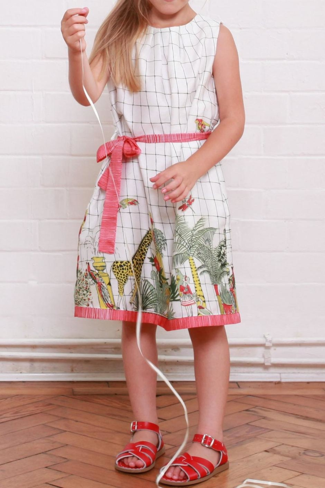 Bryony Olivia Zoo Dress - Front Full Image