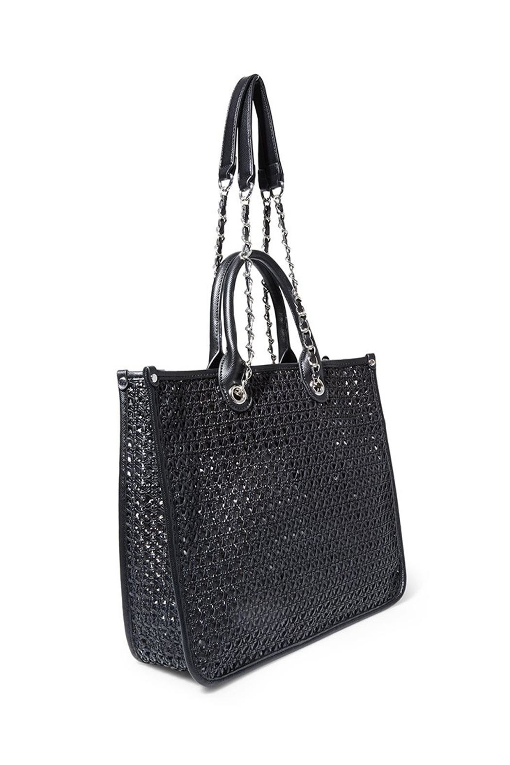 Steven by Steve Madden Bstacy Woven Tote - Front Full Image