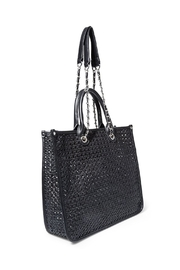 Steven by Steve Madden Bstacy Woven Tote - Front full body