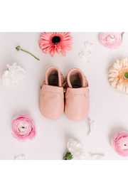 Little Love Bug Company Bubble Gum Pink Original Moccasin - Side cropped