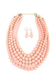 Riah Fashion Bubble-Multilayer Necklace Set - Product Mini Image