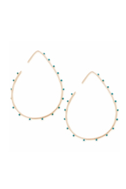 Cool and Interesting Bubble Shape Hoop Earrings - Product Mini Image