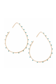 Cool and Interesting Bubble Shape Hoop Earrings - Front cropped