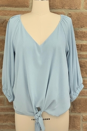 Adrienne Bubble Sleeve Blouse - Front cropped