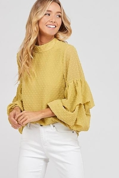 Wishlist Bubble Sleeve Blouse - Product List Image