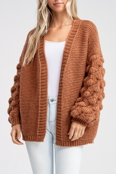 Papermoon Bubble Sleeve Cardigan - Product List Image