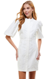 TCEC Bubble Sleeve Dress - Front cropped