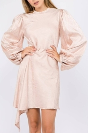 On Twelfth Bubble Sleeve Dress - Front cropped