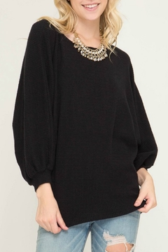 Shoptiques Product: Bubble Sleeve Sweater
