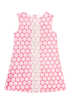 Bailey Boys Bubblegum Dot A-Line Dress - Alternate List Image