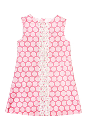 Bailey Boys Bubblegum Dot A-Line Dress - Side cropped
