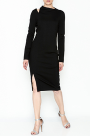 Buchanan & Kang Shoulder Slit Dress - Product Mini Image