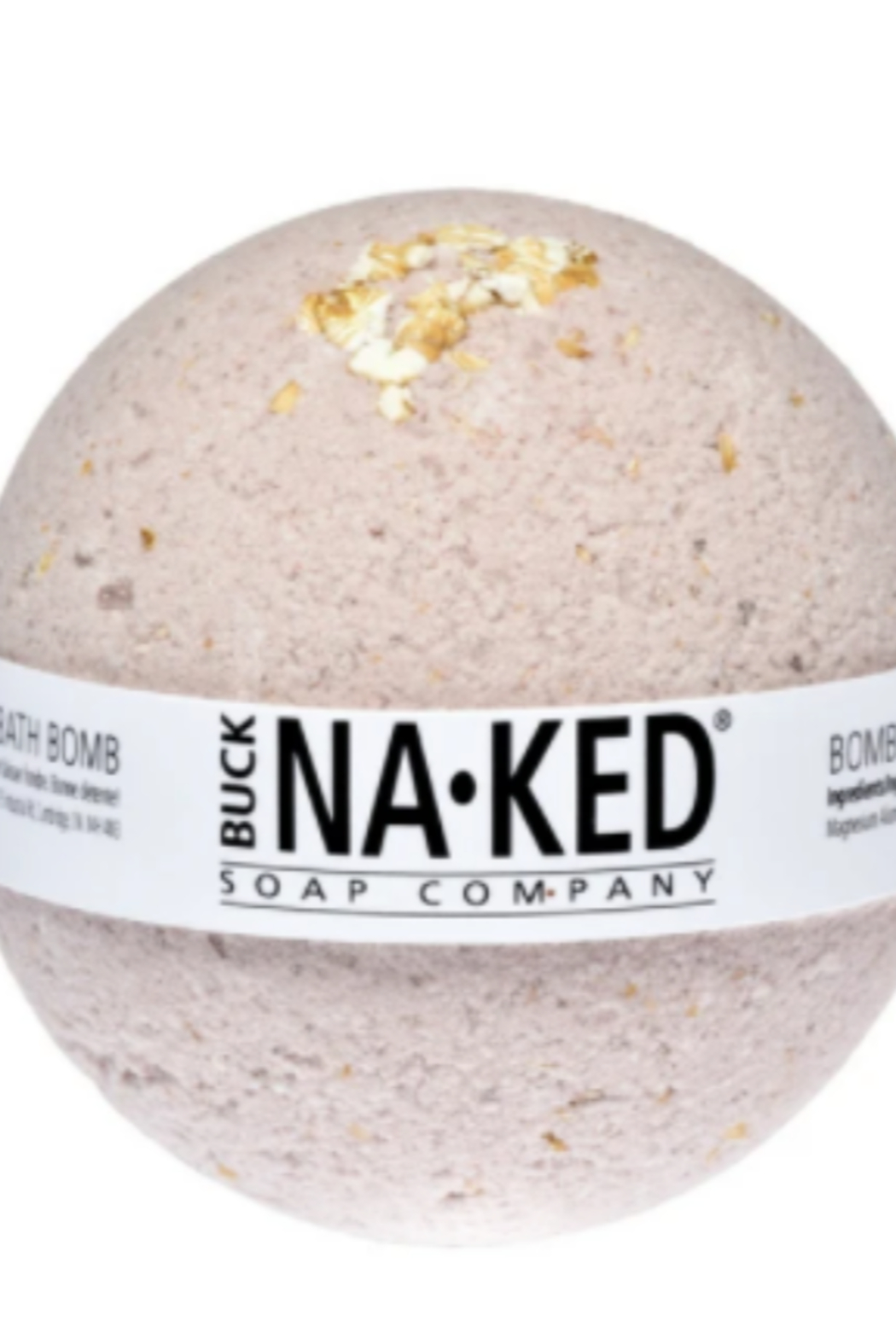 Buck Naked Soap Company  Buck Naked Bath Bomb Purple Brazilian Clay - Front Cropped Image