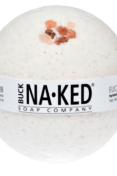 Buck Naked Soap Company  Buck Naked Eucalyptus & Himalaya Bath Bomb - Alternate List Image