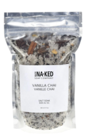 Buck Naked Soap Company  buck Naked Vanilla Chai Salt Soak - Product Mini Image