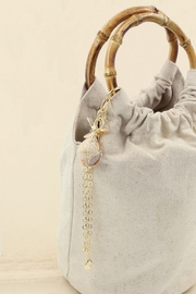 Ettika Bucket Bag with Starfish & Shell Tassel - Product Mini Image