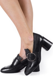 Keep Buckle Heeled Loafer - Back cropped