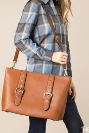 Simply Noelle Buckle Travel Tote - Product Mini Image