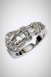 Embellish Buckle Up Ring - Product Mini Image