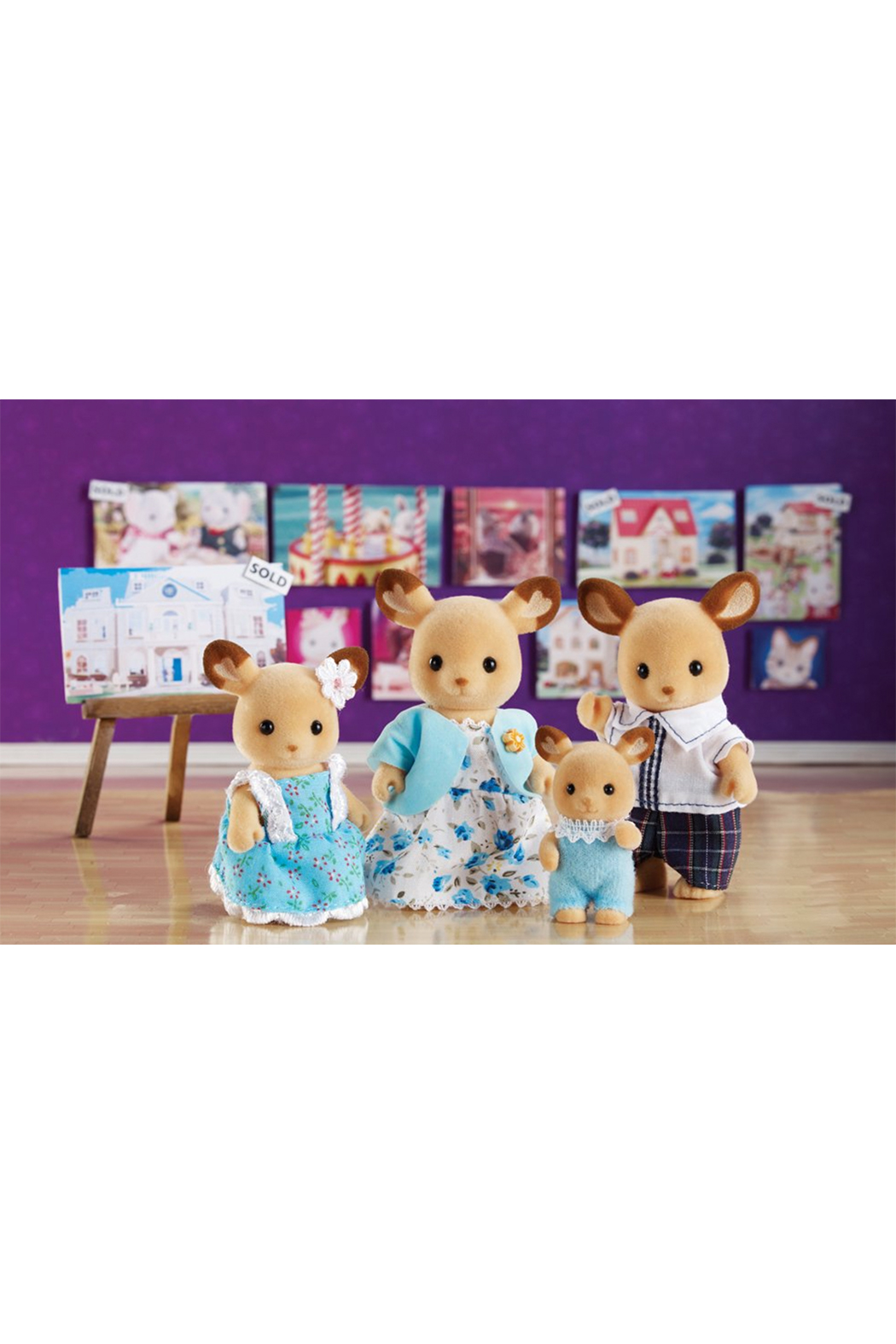 Calico Critters Buckley Deer Family - Main Image