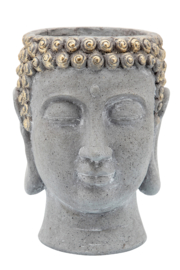 Sagebrook Home BUDDHA HEAD PLANTER - Front full body