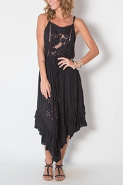 Buddha Sayulita Flowerchild Dress - Front cropped