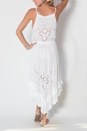 Buddha Sayulita Flowerchild Dress - Back cropped