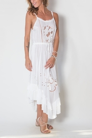 Buddha Sayulita Flowerchild Dress - Side cropped