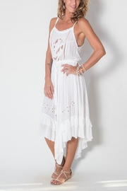 Buddha Sayulita Flowerchild Dress - Front full body