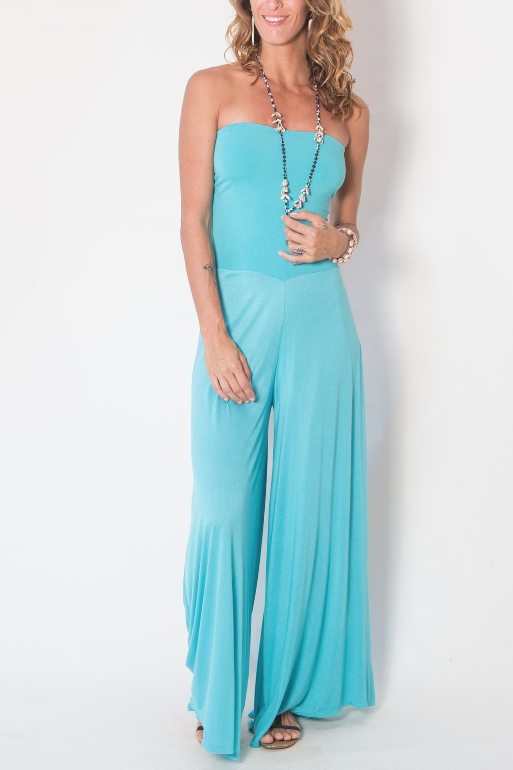 Buddha Sayulita Laura Jumpsuit - Front Cropped Image