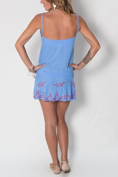 Buddha Sayulita Lyric Button Dress - Alternate List Image