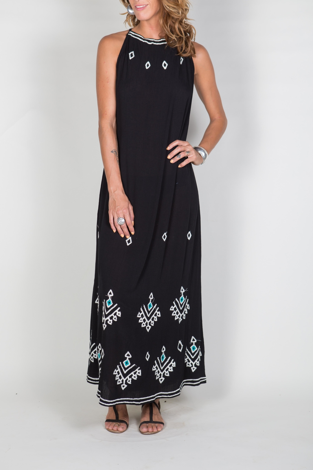 Buddha Sayulita Stella Long Dress - Main Image