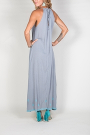 Buddha Sayulita Stella Long Dress - Back cropped