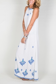 Buddha Sayulita Stella Long Dress - Side cropped