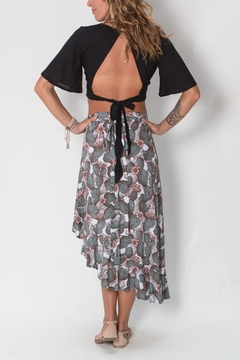 Buddha Sayulita Wildandfree Wrap Skirt - Alternate List Image