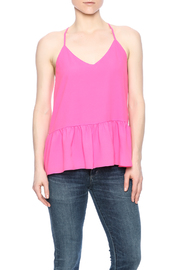 Buddy Love Peplum Tank - Product Mini Image