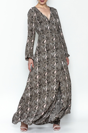 Buddy Love Cobra Milli Maxi Dress - Product Mini Image