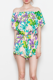 Buddy Love Floral Romper - Product Mini Image