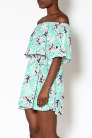 Buddy Love Kona Off-Shoulder Dress - Product Mini Image