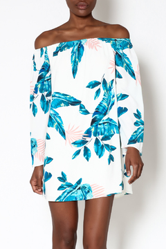 Shoptiques Product: Maui Off-Shoulder Dress