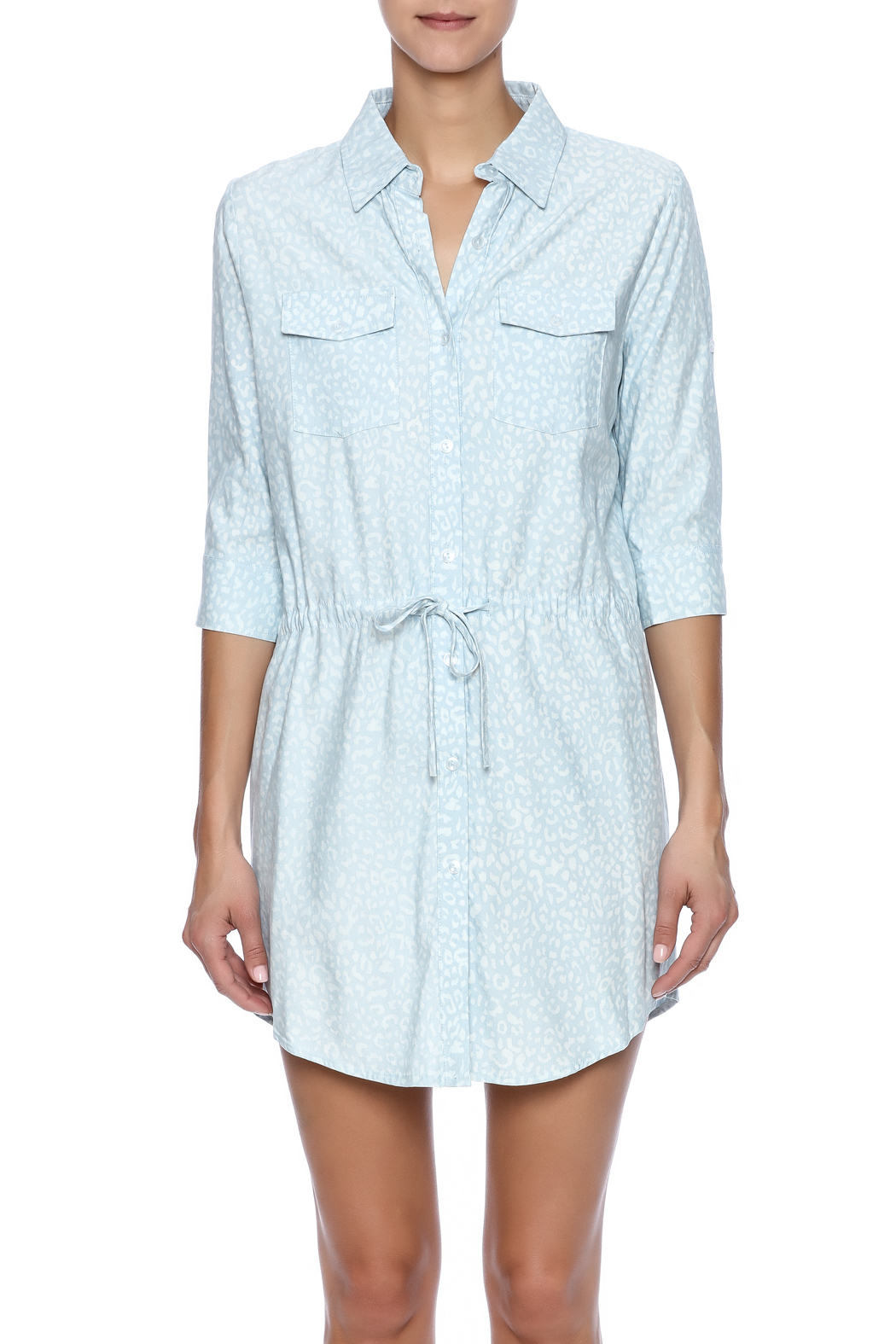 Buddy Love Orlando Shirt Dress - Side Cropped Image