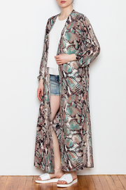 Buddy Love Printed Kimono - Product Mini Image