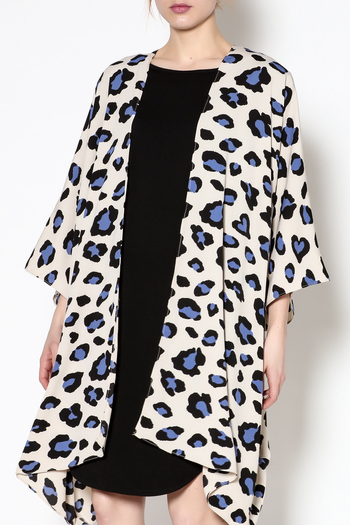 Buddy Love Rowan Leopard Kimono From Germantown By On A