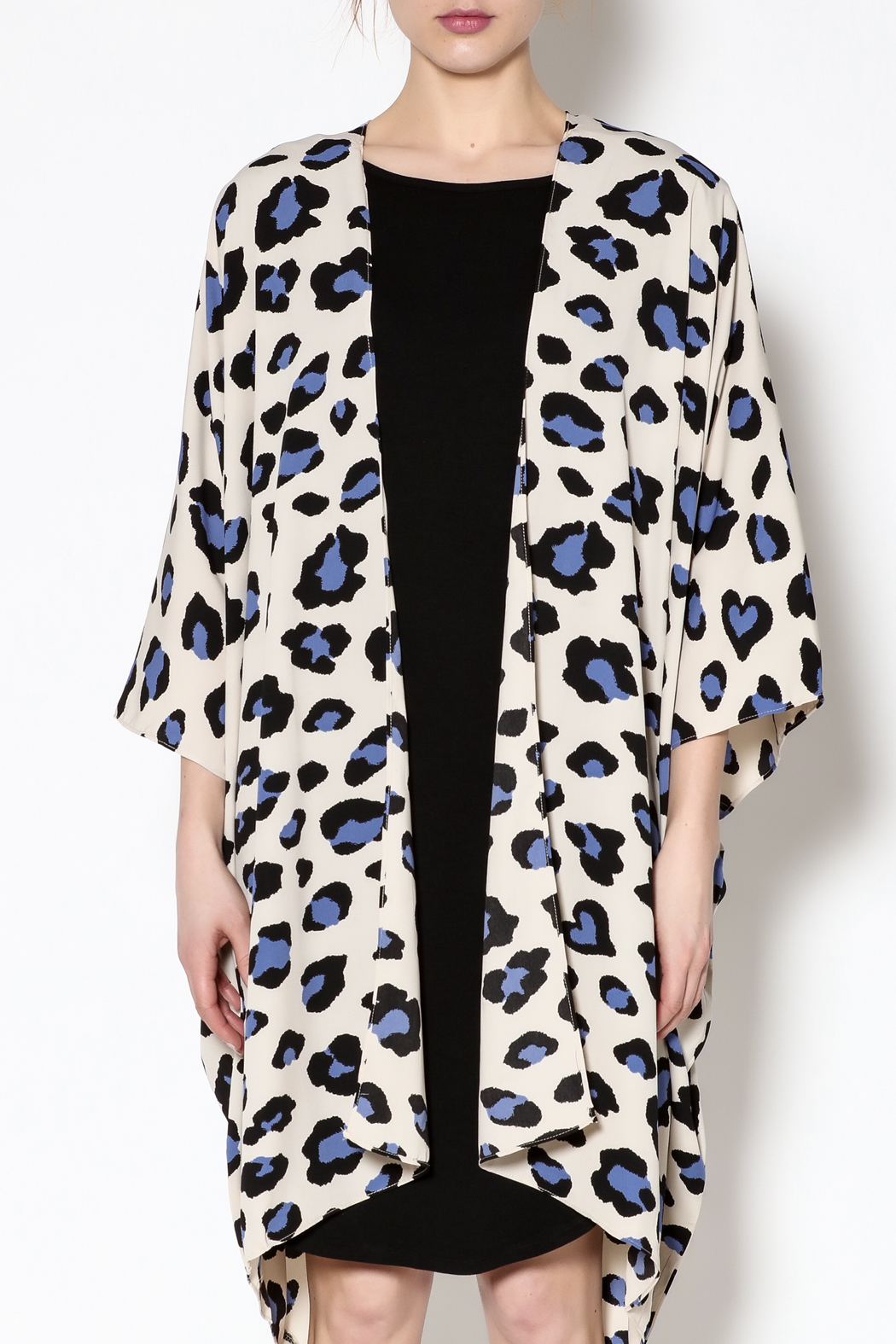 Buddy Love Rowan Leopard Kimono from Mississippi by Suzi Paige ...