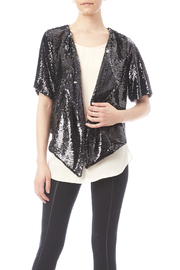 Buddy Love Sequin Short Waist Jacket - Front cropped