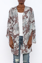 Buddy Love Snake Printed Kimono - Side cropped
