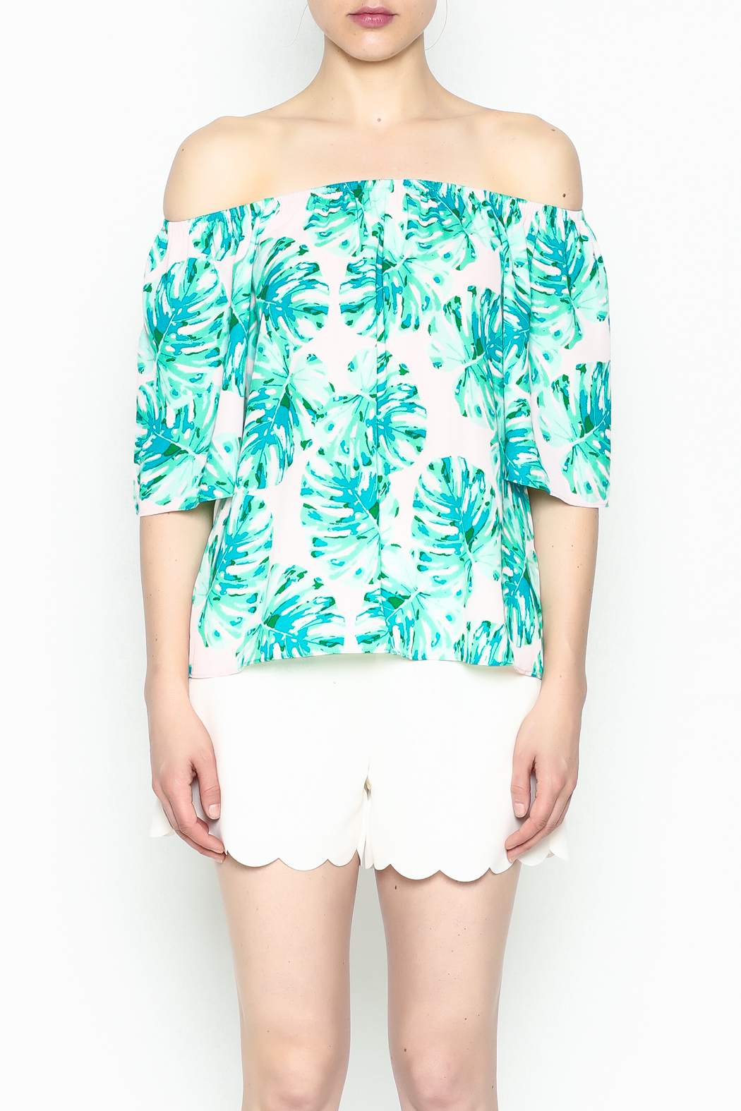 Buddy Love Tropical Cosmopolitan Top - Front Cropped Image