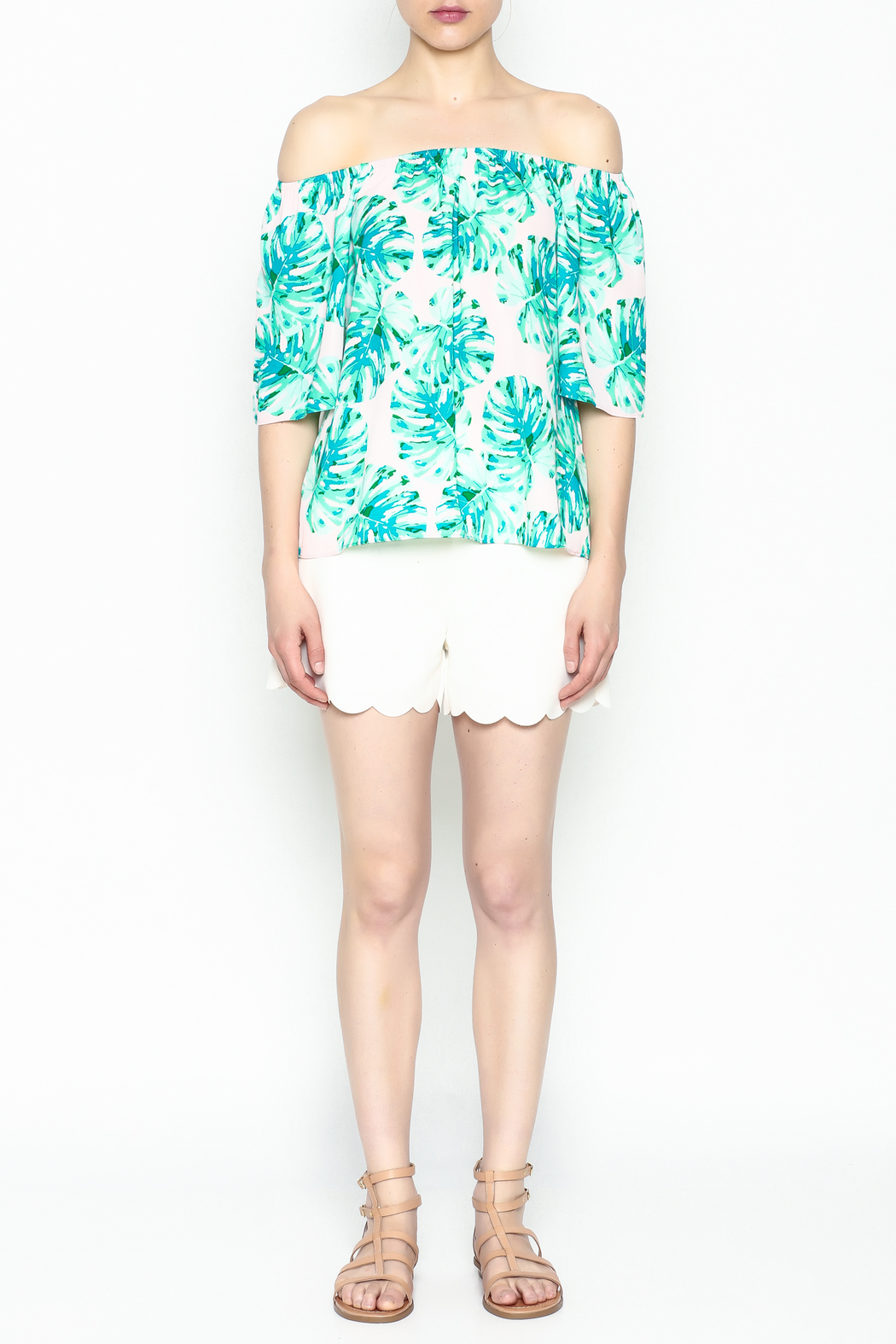 Buddy Love Tropical Cosmopolitan Top - Front Full Image