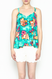 Buddy Love Tropical Kendall Top - Front cropped