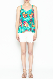 Buddy Love Tropical Kendall Top - Front full body